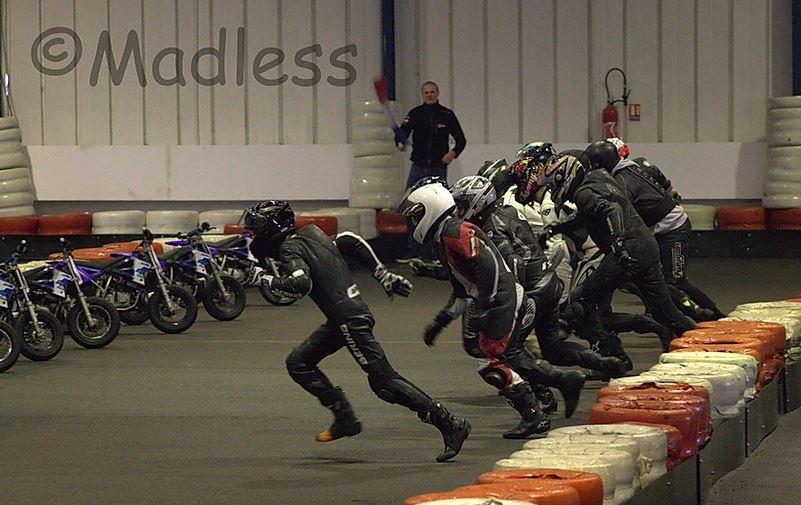 Départ mini motos